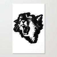 Rattatat Cat Canvas Print