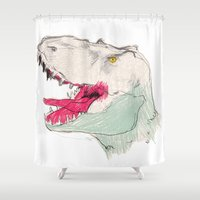 JURASSIC PARK Shower Curtain