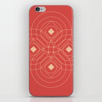 SOUND! Circle Square Pat… iPhone & iPod Skin