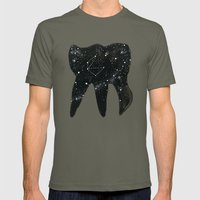 Cosmic Tooth Mens Fitted Tee Lieutenant SMALL