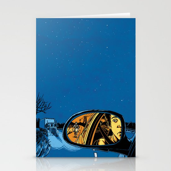 Night Drive Stationery Card