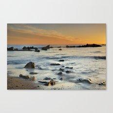 Orange at sunset Canvas Print