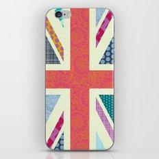 UK Beauty flag iPhone & iPod Skin