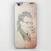 Evil uncle Leon iPhone & iPod Skin