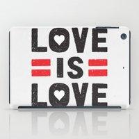 Love is Love iPad Case