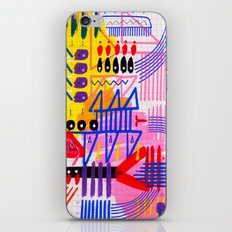 Sinfonia das Cores 1 iPhone & iPod Skin