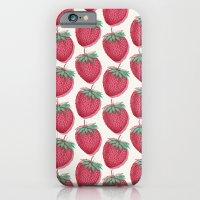 Strawberry Pattern iPhone 6 Slim Case