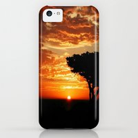 iPhone 5c Cases featuring Fiery Dragon  by Chris' Landscape Images of Australia