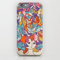 iPhone & iPod Case featuring Birdy by Julia Sonmi Heglund