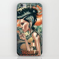 Lisbeth Salander iPhone & iPod Skin