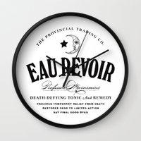 Eau Revoir Wall Clock