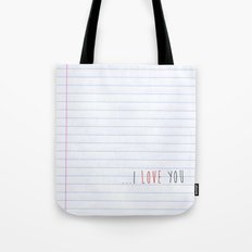 ...I Love you Tote Bag