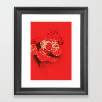 The Red Knight (Red Vers… Framed Art Print