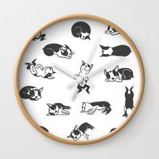 Sleeping Boogie Wall Clock