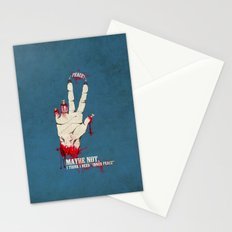 Who want some peace? Stationery Cards