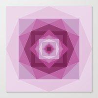 Shades of pink Canvas Print