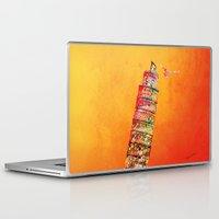 italy Laptop & iPad Skins featuring Italy  by mark ashkenazi