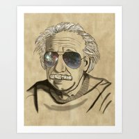 Albert's Sunglasses II Art Print