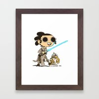 My Favorite Scavenger An… Framed Art Print