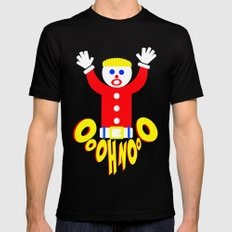 Oh No!     Mr. Bill     Saturday Night Live Mens Fitted Tee Black SMALL