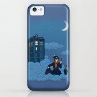 iPhone 5c Cases featuring Nanny Who by Karen Hallion Illustrations