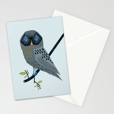 The Perching Owl Stationery Cards