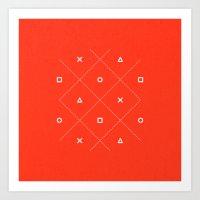 Geometry is Fun Art Print