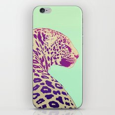 Leopard under the Sun iPhone & iPod Skin