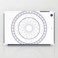 Anime Magic Circle 16 iPad Case