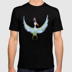 bird Mens Fitted Tee SMALL Black