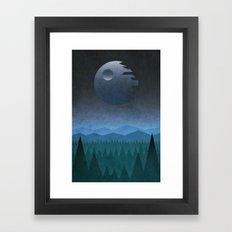endor Framed Art Print