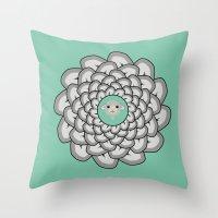 Sheep Ear Art - 2 Throw Pillow