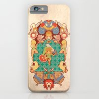 iPhone & iPod Case featuring Past Legends by Pinteezy