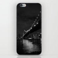 Manhattan Night Black & … iPhone & iPod Skin
