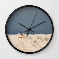 Jackson Hole Deer Wall Clock