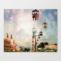 A Carnival In The Sky IV Canvas Print