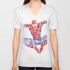Spiderman Unisex V-Neck