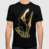 Heimdall - The Gatekeepe… Mens Fitted Tee Black SMALL