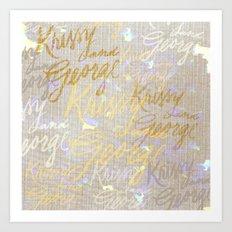 K&G 2 Art Print