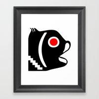 Zelonicus Fish Framed Art Print