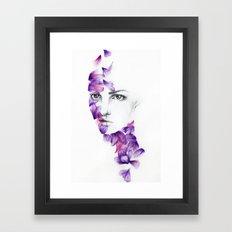 Petali Framed Art Print