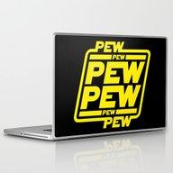Pew Pew Pew Laptop & iPad Skin
