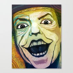Joker Old Canvas Print