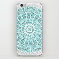 A Glittering Mandala  iPhone & iPod Skin