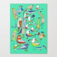 Tweet Tweet Tweet. Canvas Print