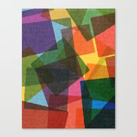 Square Miles. Canvas Print