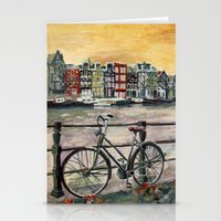 Going Dutch (blue) Stationery Cards