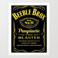 Pan Galactic Gargle Blaster Art Print
