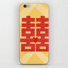 double happiness iPhone & iPod Skin
