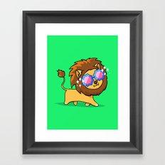 Fabulous Lion Framed Art Print